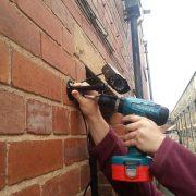 Biztonsági kamerák felszerelése