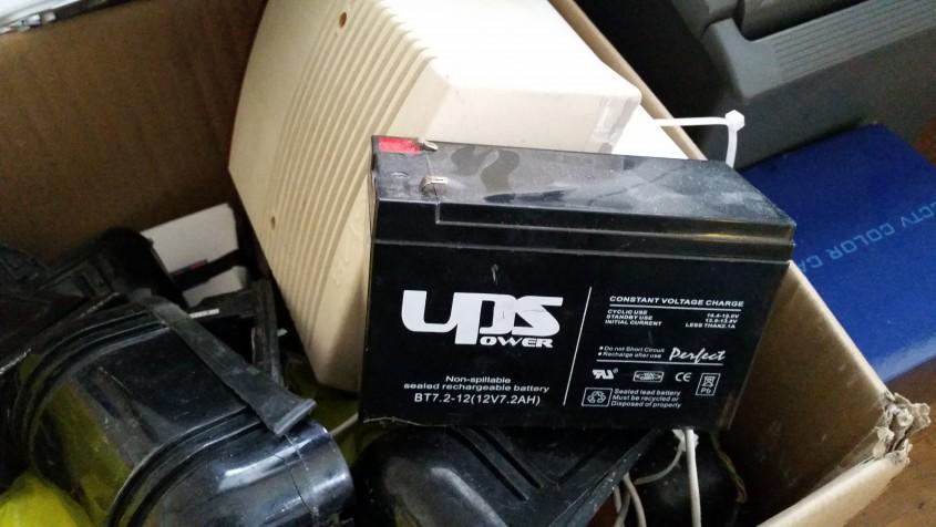 Riasztó akkumulátor