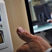Ujjlenyomat olvasó megbízható biometrikus védelem