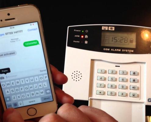 GSM riasztó szett