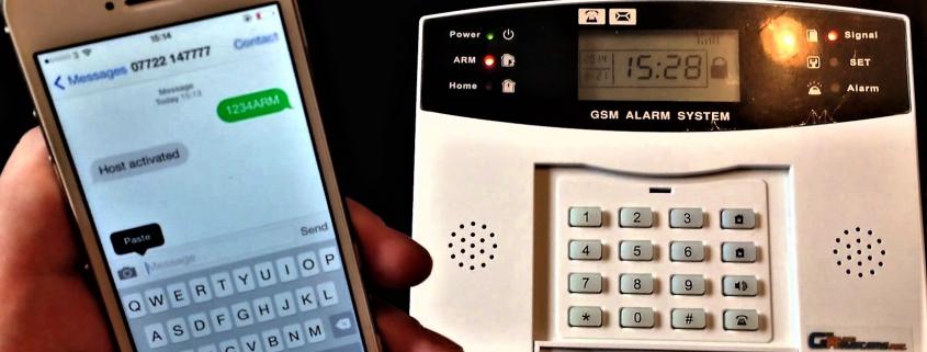 GSM riasztó