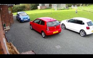 Parkoló figyelés AHD kamerarendszerrel