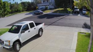 Parkoló figyelés biztonsági kamera rendszer segítségével
